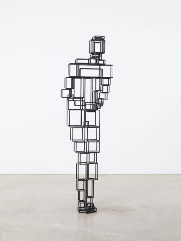the passenger times -Antony Gormley GUT VII 2010