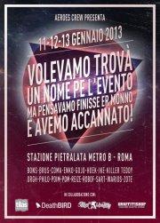 the passenger times -pietralata rome 2013 flyer Space Jam