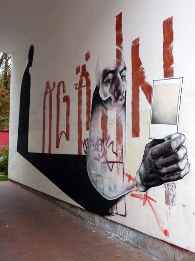 Best Ever street art -øTheP 05