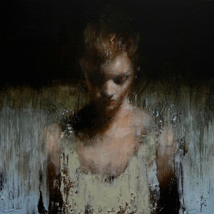 Mark Demsteader paintings study_for_blue_wave_oil_on board øTheP 23
