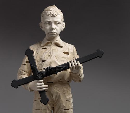 Gehard Demetz sculpture øTheP 01