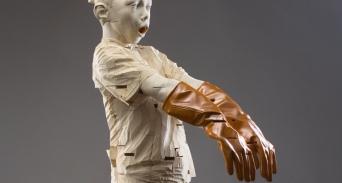 Gehard Demetz sculpture øTheP 02