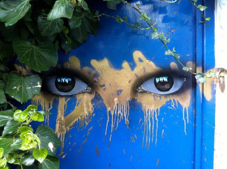 My Dog Sighs street art  TheP 01