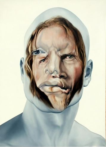Face FS153 GDLa Haba, 200x145 cm, oil on canvas, 2013.