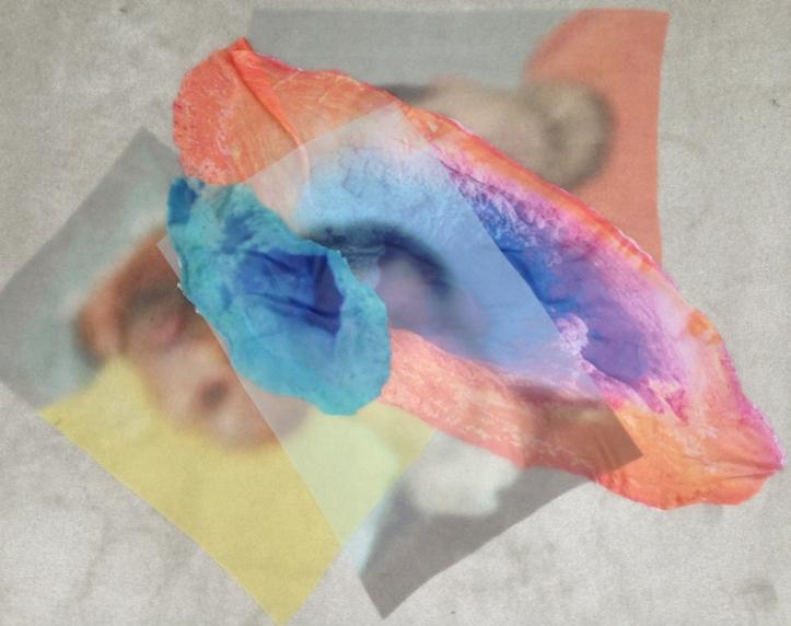 Untitled (John Doe), carpet and inkjet on fabric 2014