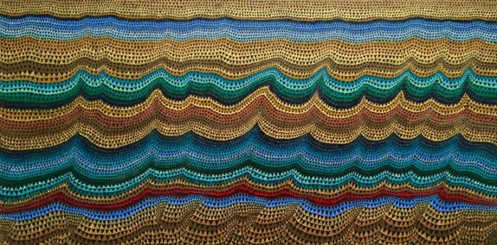 A Thousdand Li ii Oil on wood