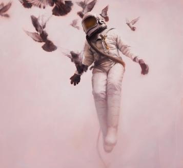 White Cosmonaut
