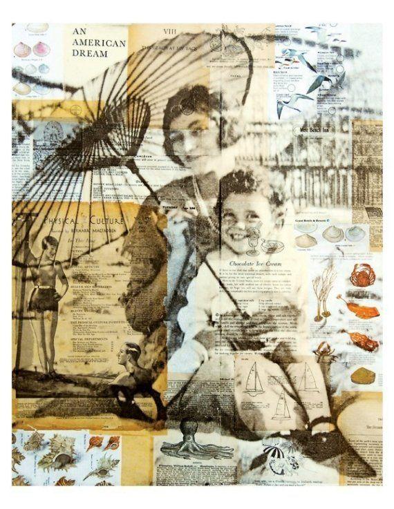 michelle caplan collage art