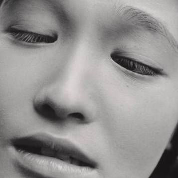 "Shomei Tomatsu, Eiko Oshima, Actress in the Film ""Shiiku"" (Prize Stock), 1961; collection SFMOMA"