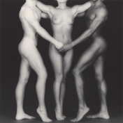 Ken and Lydia and Tyler, 1985, Robert Mapplethorpe