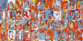 1959 Numbers in color Masters on The passenger Times jasper Johns