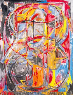1960 froam 0 to 9 Masters on The passenger Times jasper Johns