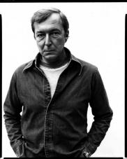 Richard Avedon's portarit of Jasper Johns, New York City, 1976.