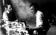 Masters on The Passenger Times robert-rauschenberg-and-jasper-johns-new-york-late-1950s-1