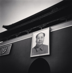 Mao Zedong Portrait, Forbidden City, Beijing, China©Michael Kenna