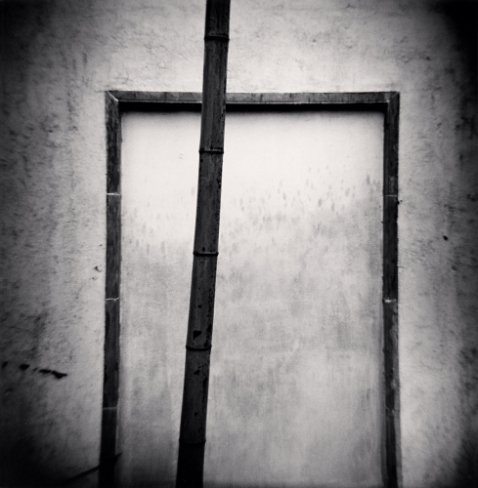 Bamboo and Door Frame, Forbidden City, Beijing, China ©Michael Kenna