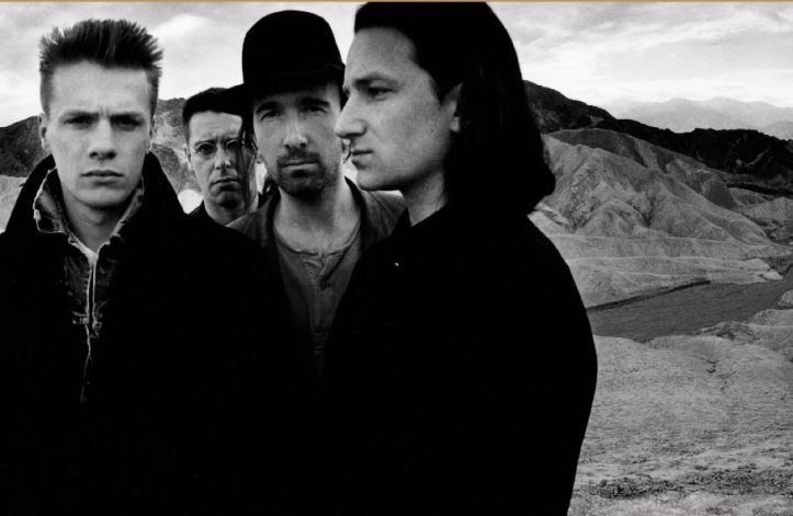U2 for The Joshua Tree album, Anton Corbijn