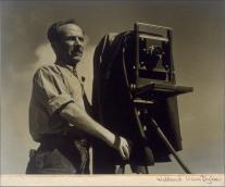 Edward Weston on The Passenger Times 09Willard-Van-Dyke-Portrait-of-Edward-Weston-1932-painting-artwork-print