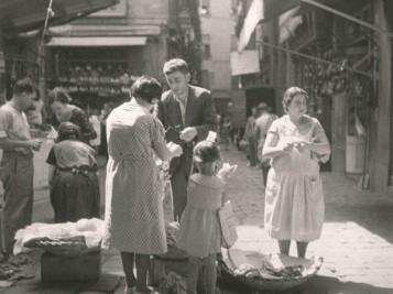 Scène au marché de la Boquería, 1934.Collezione privata, Barcellona