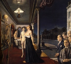 Paul Delvaux, Il museo Spitzner, 1943